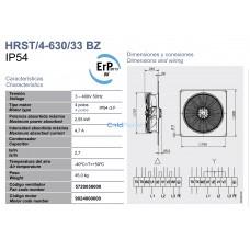 Вентилятор Soler&Palau HRST/4-630/33 BPN